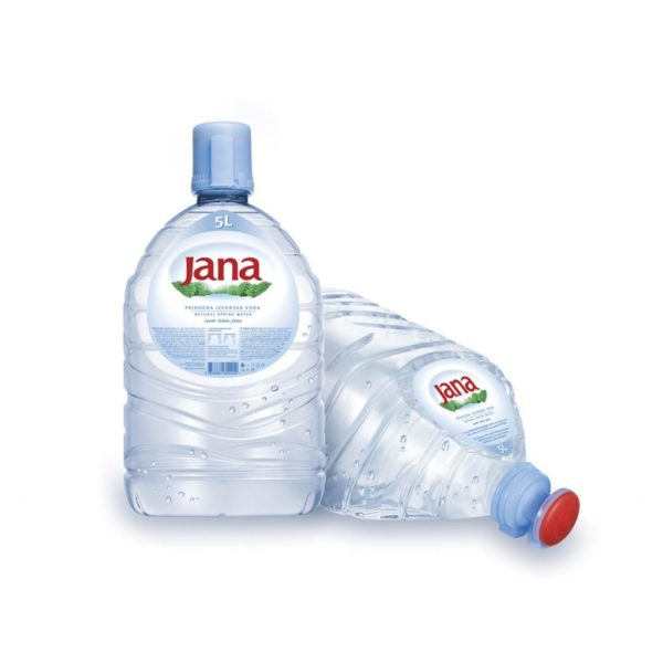 Natural Mineral non-carbonated Water Jana 5 l-0