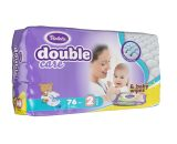 Baby dipers double care Air dry size 2 (3-6kg) Jumbo 76 Violeta-0