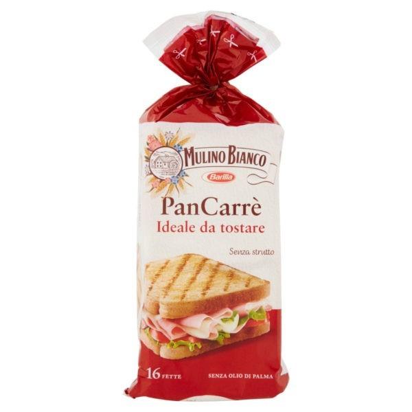 Toast Pan Carre Mulino Bianco Barilla 285 g-0