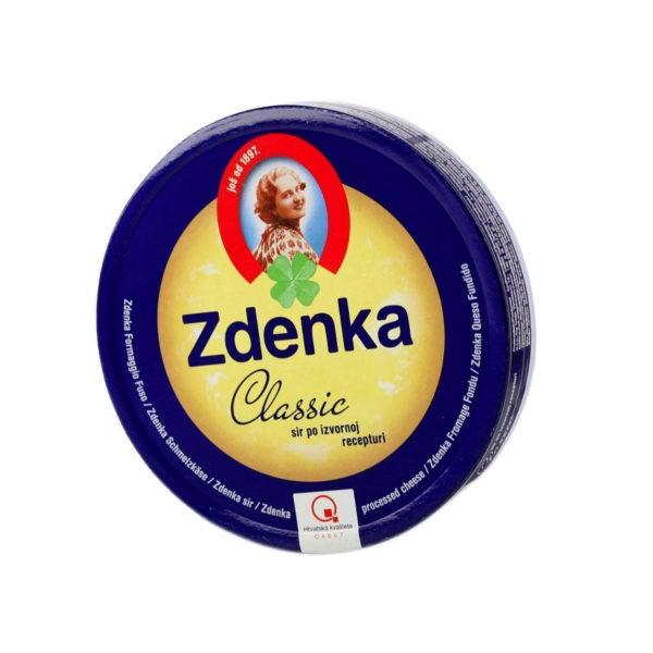 Processed cheese Zdenka classic 140 g-0