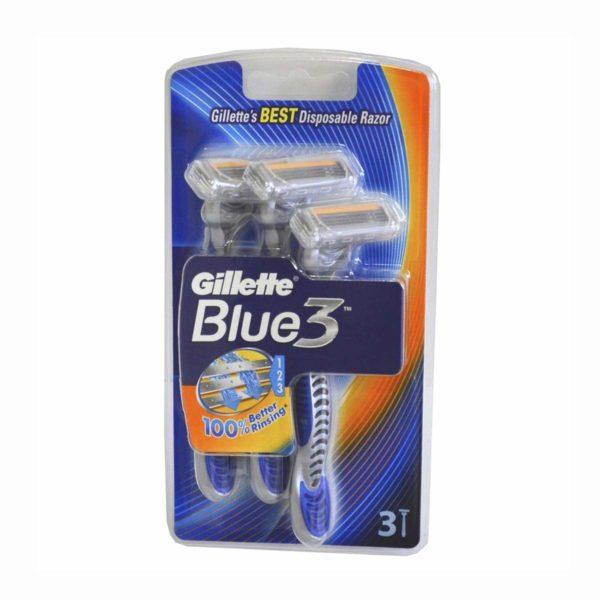 Gillette Blue 3 Men's Disposable Razors-0
