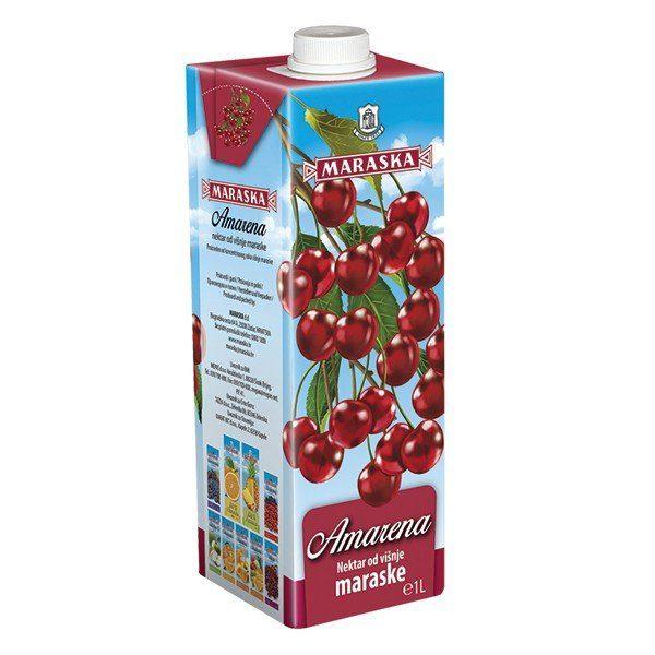 Cherry Marasca Amarena Nectar Maraska 1 l -0